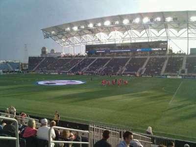 Talen Energy Stadium secção 123