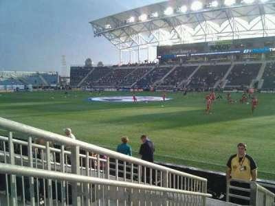 Talen Energy Stadium secção 124