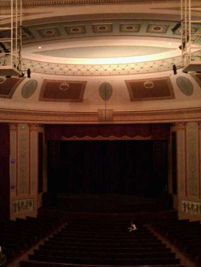 Strand-Capitol Performing Arts Center, secção: balcony center, fila: c, lugar: 106