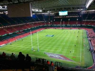 Principality Stadium, secção: u17, fila: 21, lugar: 9
