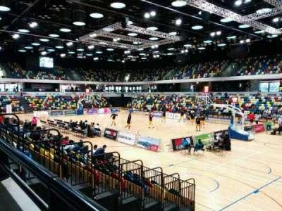 Copper Box Arena secção 110