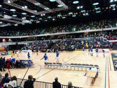Copper Box Arena secção 103