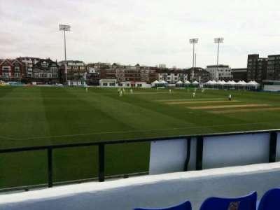 County Cricket Ground (Hove), secção: L, fila: c, lugar: 41