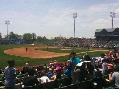 TD Bank Ballpark, secção: 218, fila: o, lugar: 11