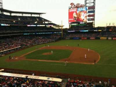Citizens Bank Park secção 214