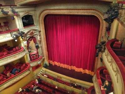Théâtre Royal du Parc, secção: Quatrième Balcon, fila: a, lugar: 28