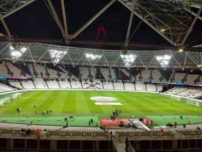London Stadium secção 206