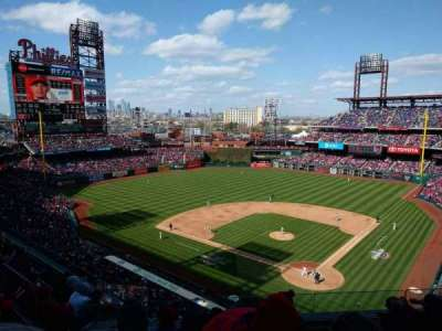 Citizens Bank Park secção 322