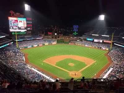 Citizens Bank Park secção 422