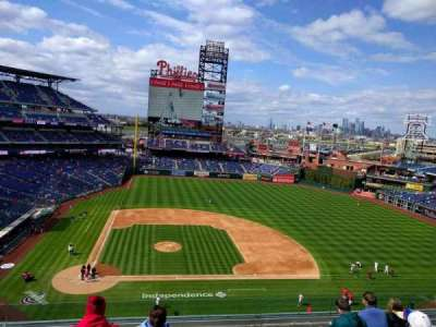 Citizens Bank Park, secção: 316, fila: 7, lugar: 17