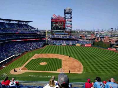 Citizens Bank Park, secção: 315, fila: 8, lugar: 8
