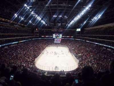 Gila River Arena, secção: 208, fila: D, lugar: 8