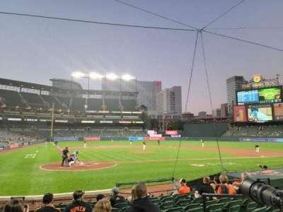 Oriole Park at Camden Yards, secção: 30, fila: 12, lugar: 3