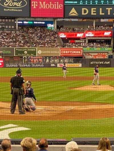 Yankee Stadium, secção: 26, fila: 14, lugar: 4