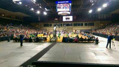 Erie Insurance Arena, secção: 112, fila: E, lugar: 12