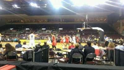 Erie Insurance Arena, secção: 120, fila: B, lugar: 3