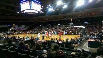 Erie Insurance Arena, secção: 122, fila: G, lugar: 3