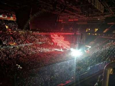 Quicken Loans Arena, secção: 205, fila: 2, lugar: 16