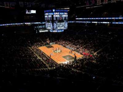 Barclays Center, secção: 219, fila: 6, lugar: 7