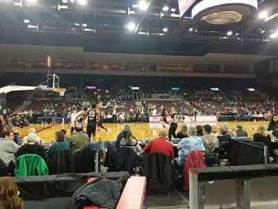 Erie Insurance Arena, secção: 118, fila: C, lugar: 12