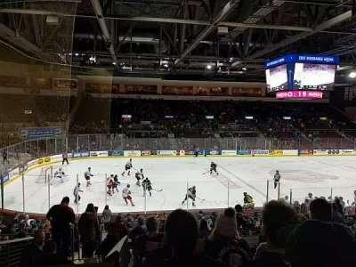 Erie Insurance Arena, secção: 217, fila: U, lugar: 10