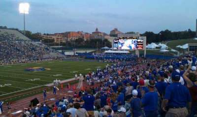 David Booth Kansas Memorial Stadium secção 10