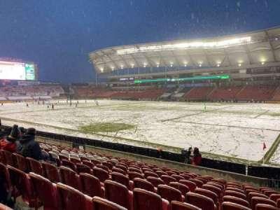Rio Tinto Stadium, secção: 34, fila: M, lugar: 4