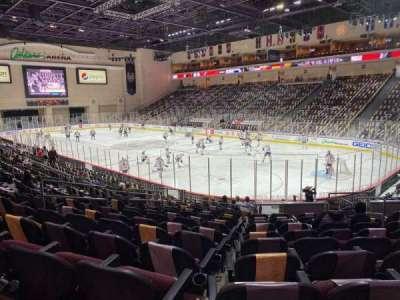 Orleans Arena secção 113