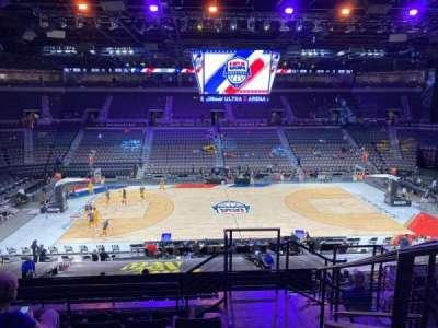 Michelob Ultra Arena secção 219