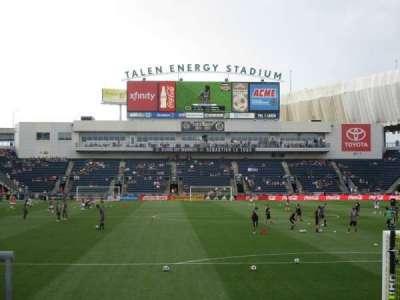 talen energy stadium secção 139
