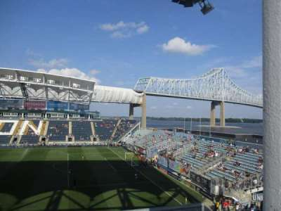 Talen Energy Stadium secção UNION ALE HOUSE DECK
