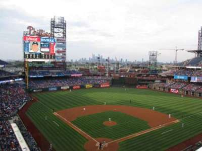 Citizens Bank Park secção 320