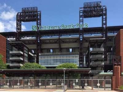 Citizens Bank Park, secção: 3rd Base Gate