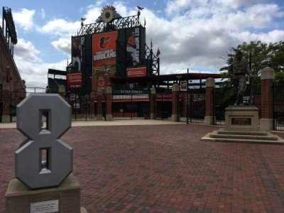 Oriole Park at Camden Yards, secção: Gate H