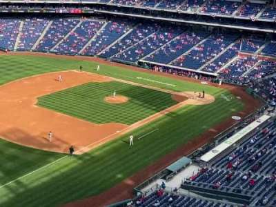 Citizens Bank Park, secção: 431, fila: 6, lugar: 19