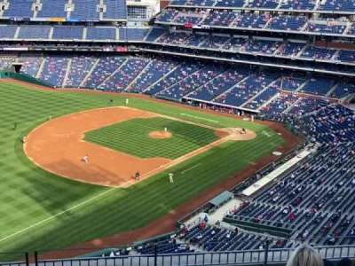 Citizens Bank Park, secção: 431, fila: 6, lugar: 18