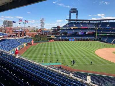 Citizens Bank Park, secção: 233, fila: 9, lugar: 15