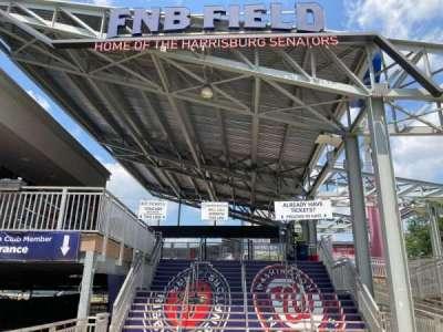 FNB Field, secção: MAIN ENTRANCE