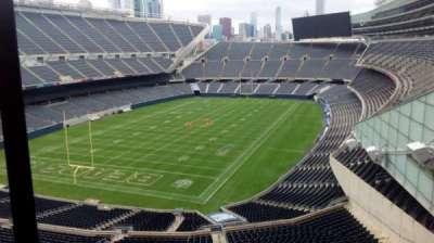 Soldier Field, secção: Suite, fila: 1