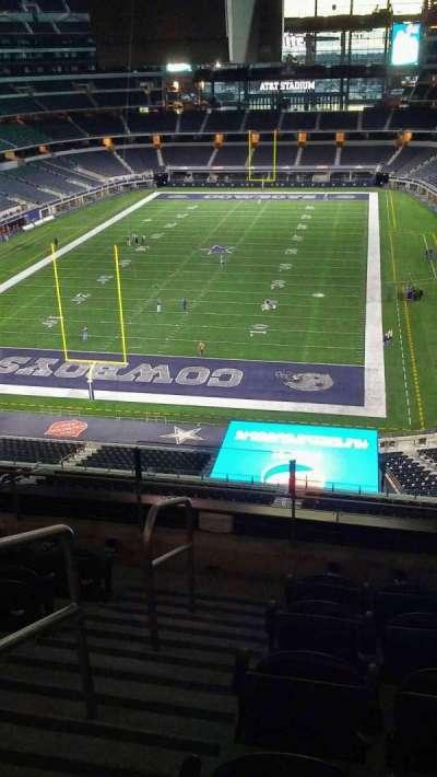 AT&T Stadium, secção: 345, fila: 5