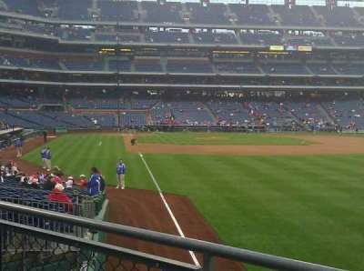 Citizens Bank Park secção 107