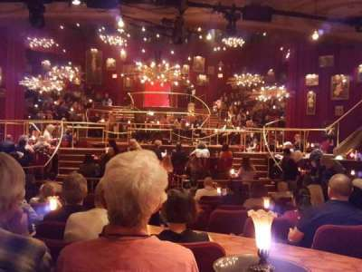 Imperial Theatre, secção: Orchestra, fila: M, lugar: 107