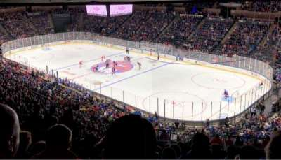 Nassau Veterans Memorial Coliseum secção 218