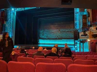 Broadhurst Theatre secção Orchestra R