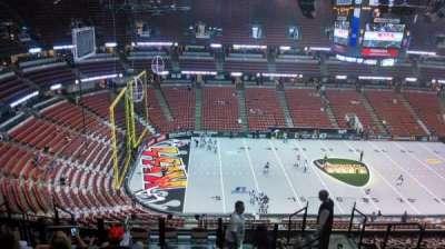 Honda Center, secção: 436, fila: N, lugar: 8