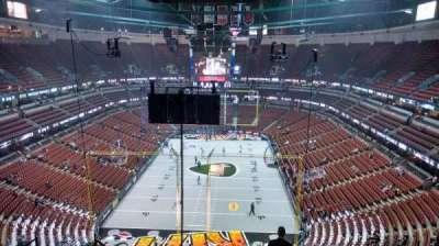 Honda Center, secção: 422, fila: M, lugar: 8