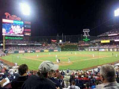 Citizens Bank Park secção 123