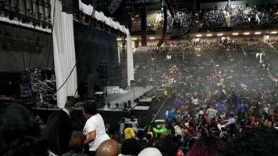 Royal Farms Arena, secção: 105, fila: J, lugar: 9