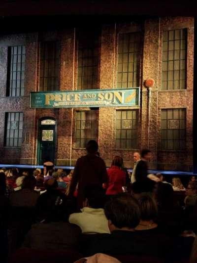 Al Hirschfeld Theatre, secção: OrchR, fila: P, lugar: 6, 8