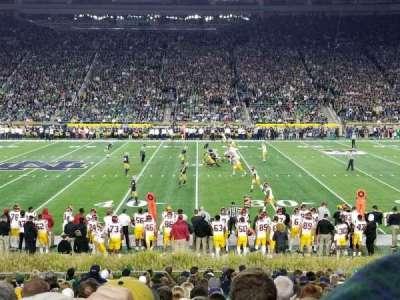 Notre Dame Stadium secção 9